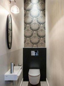 Miroir toilette
