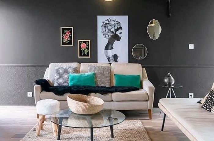 Peinture salon - Noir