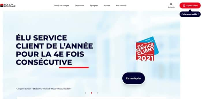 Société Générale - Accueil