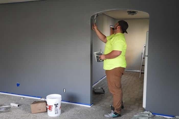 Etapes pour peindre un mur