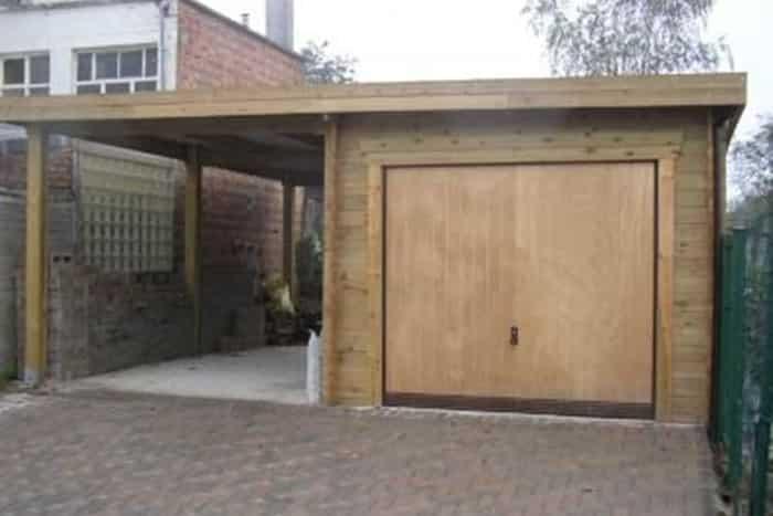 Garage hors-sol