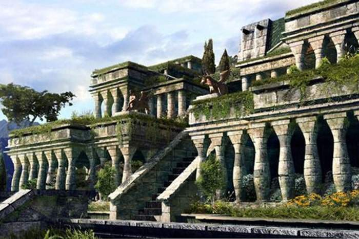 Jardins suspendus de Bablyone