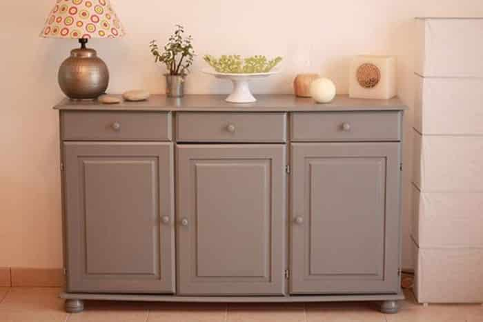 Mobilier taupe