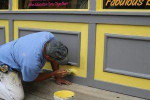 Peindre un mur sans laisser de trace