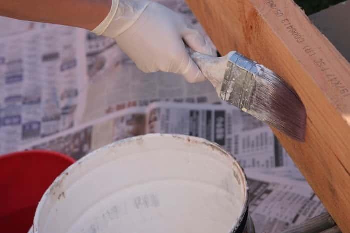 Quantité de peinture à prévoir