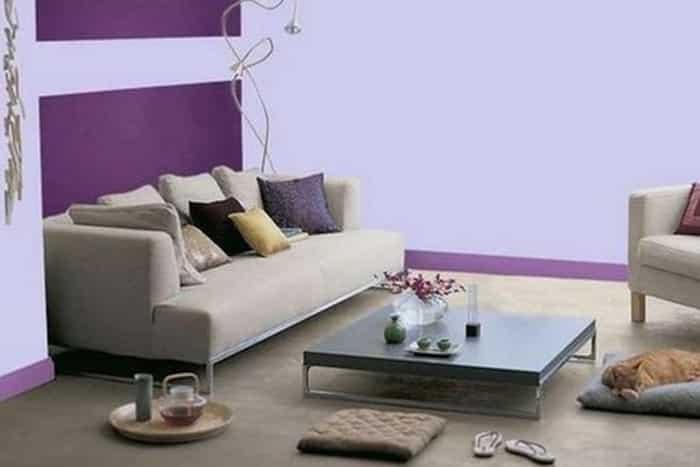 Taupe et violet