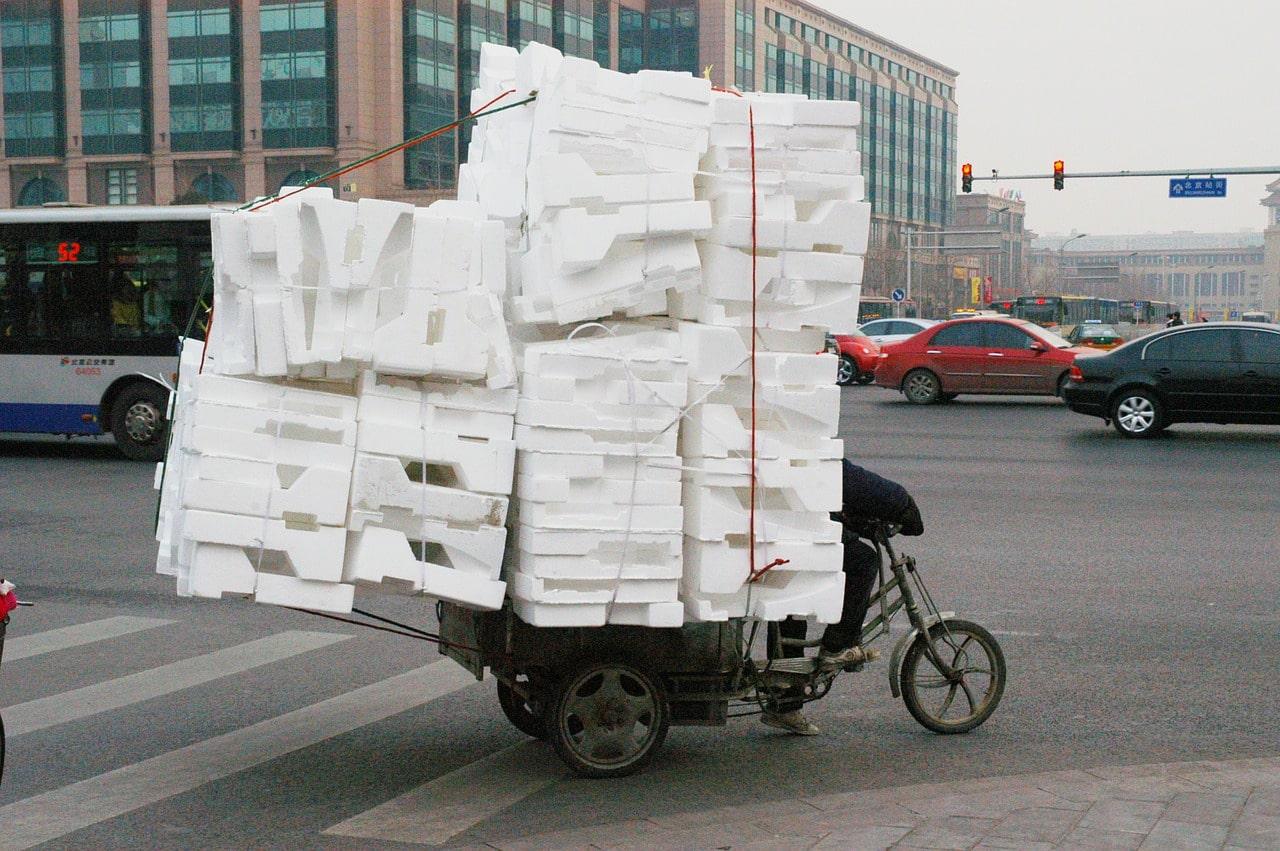 Polystyrene-recyclage